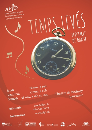 Affiche du spectacle « TEMPS LEVÉS »